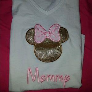 Minnie mommy shirt